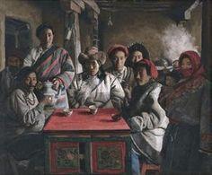 1994 SOUR MILK TEA HOUSE IN TIBET-I, Xu Weixin (徐唯辛; b1958, Urumqi, Xinijiang Province, China)