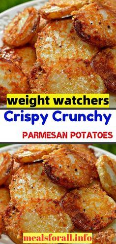 Skinny Recipes, Ww Recipes, Chicken Recipes, Fruit Recipes, Potato Recipes, Baked Potato Oven, Parmesan Potatoes, Dessert Blog, Glass Baking Dish