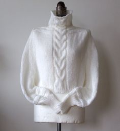Braided wedding shrug CAPE poncho cabled shrug with sleeves