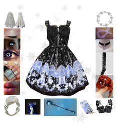 """Thaw my Frozen Heart"" by iznek1234 ❤ liked on Polyvore featuring Bling Jewelry, Masquerade and Pamela Froman"