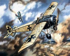 World War 1 Pfalz E.IV