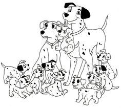 Die 43 Besten Bilder Von 101 Dalmatiner Coloring Pages 101