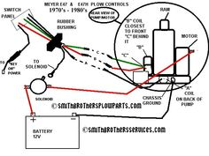 11 Best snow plow images | Snow plow, Meyer snow plow parts ... Hard Wiring Diagram Meyer Plow Control on