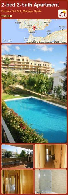 2-bed 2-bath Apartment in Riviera Del Sol, Málaga, Spain ►€89,000 #PropertyForSaleInSpain