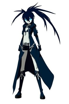 black rock shooter -
