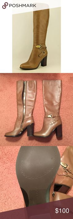 Tahari boots size 7M. 1 day sale only!! 🎉🎉🎉 Never been worn Tahari boots size 7 Tahari Shoes Heeled Boots