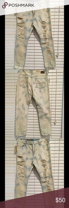 "💯 Denim & Supply Denim Ralph Lauren Authentic Denim & Supply by Ralph Lauren skinny boyfriend denim. Factory distressed. 100% cotton. Waist is approximately 18"" and inseam is approximately 29"". Size 31. NWT Denim & Supply Ralph Lauren Jeans Boyfriend"