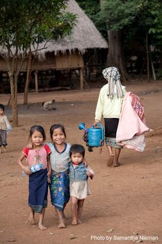 Children in Laos - protection is a powerful thing www.villagefocus.org