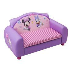 Disney Minnie Mouse Kids Storage Sofa in Purple