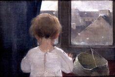 L'esprit de finesse: Johann Wolfgang Goethe: Io voglio, caro amico, e t. Helene Schjerfbeck, Paintings Famous, Soviet Art, Scandinavian Art, Painting People, Figurative Art, Female Art, Painting & Drawing, Finland