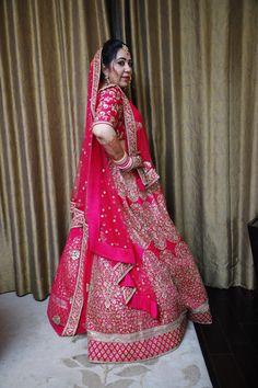 #sabyasachi #sabyasachibride #indianbride Sabyasachi Bride, Punjabi Bride, Lehenga, Kimono Top