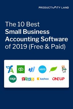 Find out the best accounting software small businesses are using this year to streamline accounting, payroll, inventory management, and more. Accounting Classes, Small Business Accounting Software, Accounting Books, Small Business Bookkeeping, Accounting And Finance, Accounting Services, Inventory Management Software, Time Management, Business Essentials