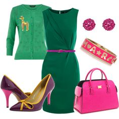 I LOVE these colors, Mardi Gras?