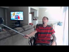 2015 SENTAR Wired Connected Selfie Stick and Mini Tripod Review