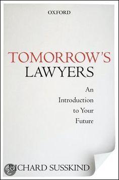 bol.com   Tomorrow's Lawyers, Richard E. Susskind   9780199668069   Boeken