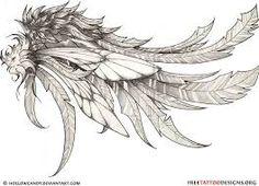 Znalezione obrazy dla zapytania wings tattoo arm