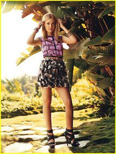Dakota Fanning for Teen Vogue