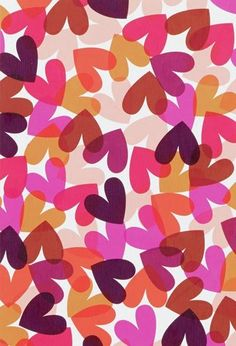 Floral Pattern Illustration - Trend Topic For You 2020 Design Textile, Design Floral, Design Design, Pattern Paper, Pattern Art, Pattern Design, Illustration Inspiration, Pattern Illustration, Heart Wallpaper