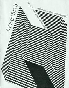 Aa.Vv.  Linea Grafica 5/1970 Rivista Bimestrale delle arti grafiche  Copertina di Franco Grignani,1970