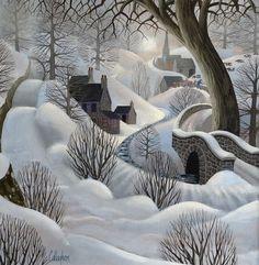 ideas for winter landscape illustration beautiful Winter Landscape, Landscape Art, Landscape Rocks, Landscape Design, Winter Illustration, Illustration Art, Henri Rousseau, Winter Art, Naive Art