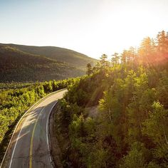I'll never get tired of driving these New Hampshire roads, like this one - the Kancamangus Highway. @natgeotravel #travel #roads #whitemountains #newhampshire #newengland #explore