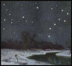 Ursa Major and Ursa Minor constellations.