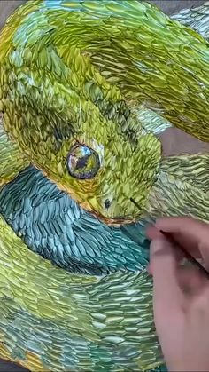 🔥HOT SALE🔥 😍Amazing Metallic Acrylic Artist Paint😍 - Create a fantastic, hyper-realistic snake painting with Arteza Metallic Acrylic Paint and discover - Snake Painting, Artist Painting, Painting & Drawing, Carillons Diy, Painting Techniques, Painting Videos, Acrylic Art, Art Tutorials, Amazing Art
