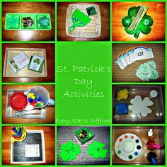 Every Star Is Different: St. Patrick's Day