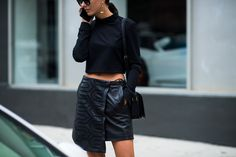 New York Fashion Week Street Style, Day 3 -