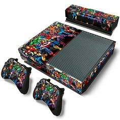 ModFreakz™ Console/Controller Vinyl Skin Set - Super Stregth Mobs for Xbox One Original Video Games Xbox, Xbox One Games, Xbox One Black, Xbox One Skin, Xbox One Console, Xbox One Controller, Graffiti Styles, More Games, Video Game Console