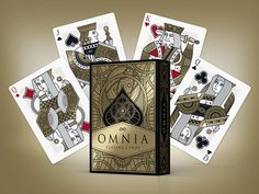 """Due to be launched on Kickstarter in June 2015 - Omnia. Read more here - Kardify : Playing Cards News: First Look: Final Teaser for """"Omnia"""" http://www.kardify.com/2015/04/first-look-final-teaser-for-omnia.html?spref=tw"""