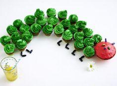 Unser beliebtes Rezept für Raupe Nimmersatt-Muffins und mehr als 55.000 weitere kostenlose Rezepte auf LECKER.de.