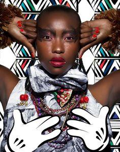 African Digital Art, Inspirationsquelle