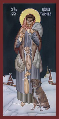 Domna of Tomsk Religious Icons, Religious Art, Church Icon, Social Themes, Byzantine Icons, Bible Activities, Catholic Saints, Art Icon, Orthodox Icons