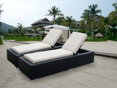 Genuine Ohana Outdoor Patio Wicker Furniture 2 Pc Set Chaise Lounge by Ohana Collection. $1299.00. Brand New All Weather Black Wicker Patio Chaise Lounge Set. Beige cushions come with zipper for easy cleaning. 2 pc includes 2 Chaise Lounge Set with BEIGE CUSHION. A combination of contemporary design and comfortable curves.. Curbside delivery with signature required. All Ohana Collection patio sets are made and sold exclusively by Ohana Depot.  Please confirm you a...