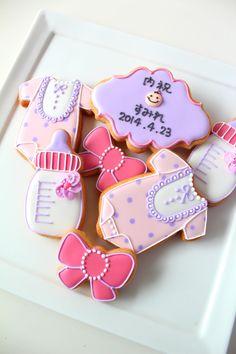 内祝い icing cookies