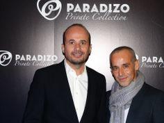 """Presentación Paradizo Private Collection """"The Essential"""" en Radisson Blu Madrid Prado — Mauricio Adalid, Insider Campaña, junto a Jordi García"""