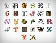 Jessica Hirsche is a passionate of typography, and what it sees through it dozens of alphabet, each letters is unique. At a rate of one letter per day, this American illustrator has found a good way to exercise creativity in everyday life.