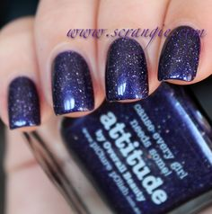 Scrangie: Picture Polish Blog Fest - Attitude and White Wedding Swatches and Review