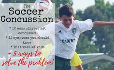 The soccer concussion is currently the BIGGEST SAFETY PROBLEM IN American Soccer. Even the PROS aren't getting the teaching right to protect our youth! Learn about how they happen, how to prevent them & MORE!