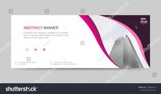 Vector Abstract Header Banner Background Business Stock Vector (Royalty Free) 1570098583