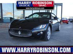 Used 2013 #Maserati GranTurismo 2dr Convertible in Fort Smith, AR Area - Harry Robinson Buick GMC