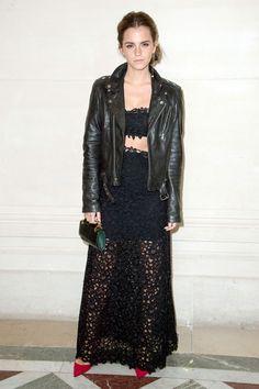 Emma Watson in Valentino and BLK Denim - 2014 100 Most Stylish (via @harpersbazaar)