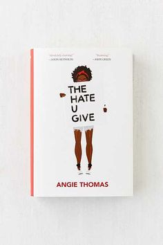 The Hate U Give By Angie Thomas YA book about a black teenager who straddles the ghetto and a fancy suburban prep school. Her childhood friend is unarmed and killed by a cop. Moving fiction that provides insight and compassion. Ya Books, Good Books, Books To Read, Reading Lists, Book Lists, Book Recommendations, Book Quotes, Self Help, Book Lovers