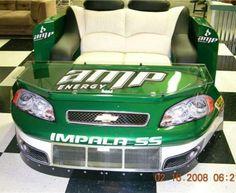 My true man cave dream, a Dale jr. real NASCAR lounge set... Please!