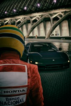 Ayrton Senna da Silva and Honda NSX