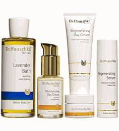 Dr. Hauschka restores and balances skin's health holistically using biodynamic and organic plant ingredients. #skincare