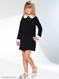 Детский школьный сарафан-платье