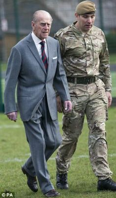 Britain's Prince Philip, Duke of Edinburgh visits the Battalion of the Grenadier Guards at Lille Barracks in Aldershot, southwest of London, on February As Colonel of the Grenadier. Imperial State Crown, Hm The Queen, Royal Blood, Isabel Ii, My Family History, Prince Phillip, Royal Engagement, Royals, Moda Masculina