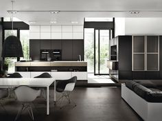 Modular kitchen with island PURE SE 3003 R by SieMatic